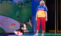 Scene with Mickey from