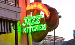 Sign for Ralph Brennan's Jazz Kitchen