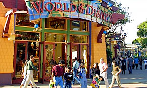Downtown Disney Shopping - Disneyland