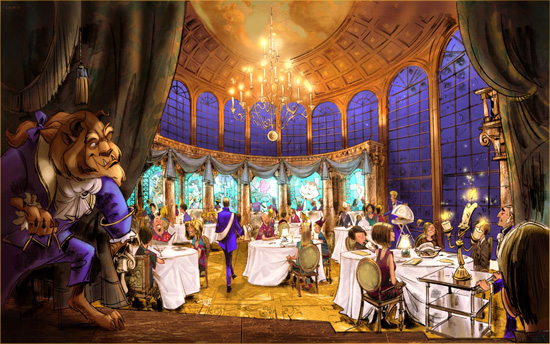Be Our Guest Restaurant in the New Fantasyland