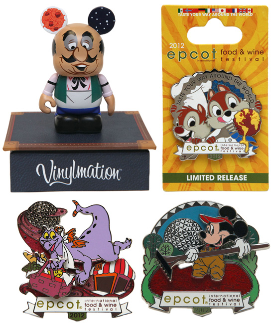 Food & Wine Festival  limited edition pins