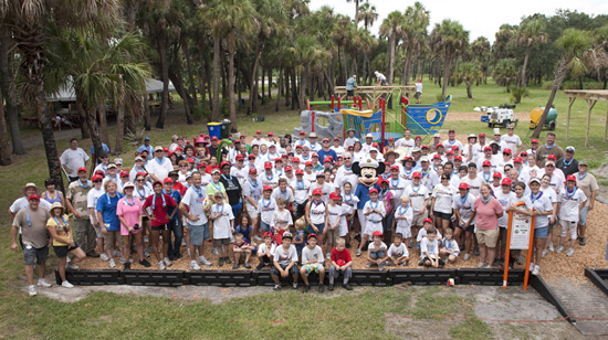 Disney Cruise Line Builds a Nautical Playground in One Day!