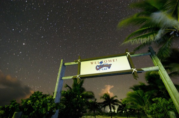 Castaway Cay at Night