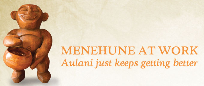 Aulani is Expanding - Menehune at Work