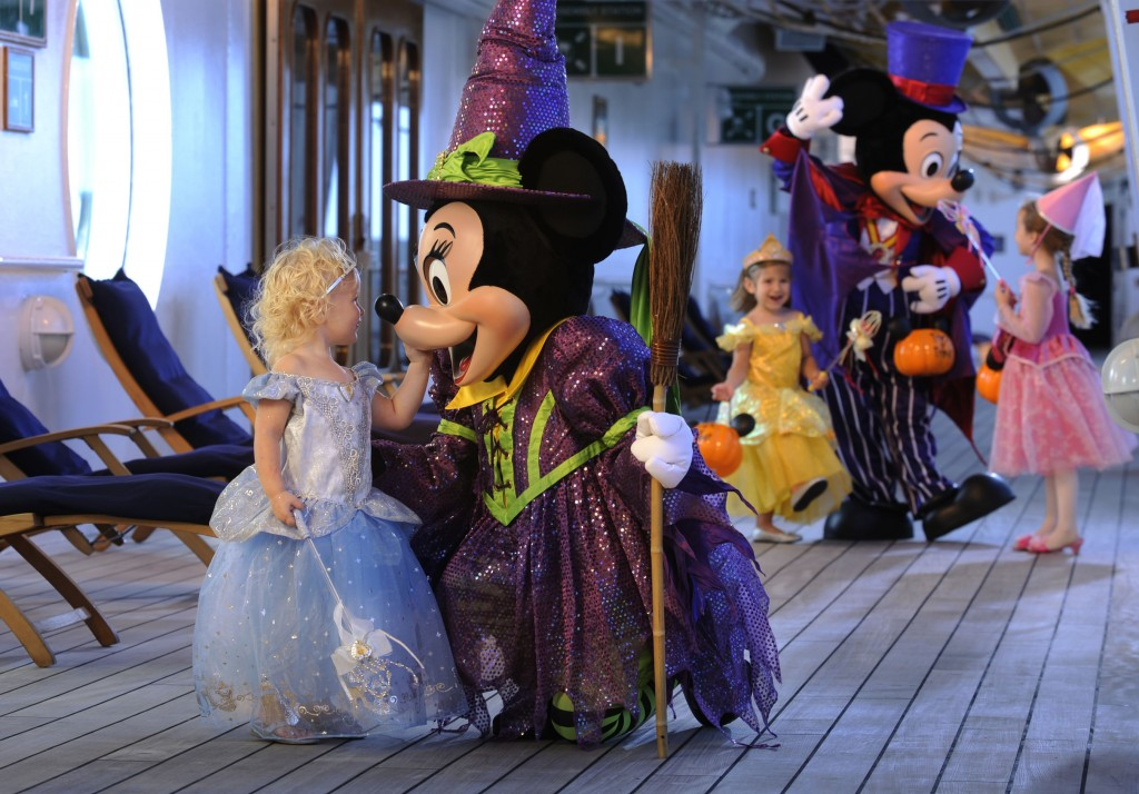 Halloween Minnie and Mickey aboard Disney Cruise Line