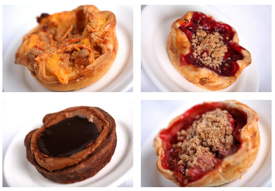 mini-pies served at Flo's V-8 Café