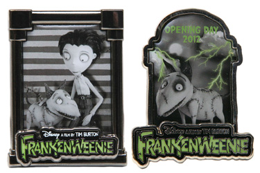 limited Frankenweenie edition pin
