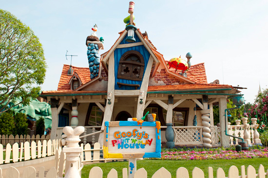 Goofy's Paint 'n' Play House