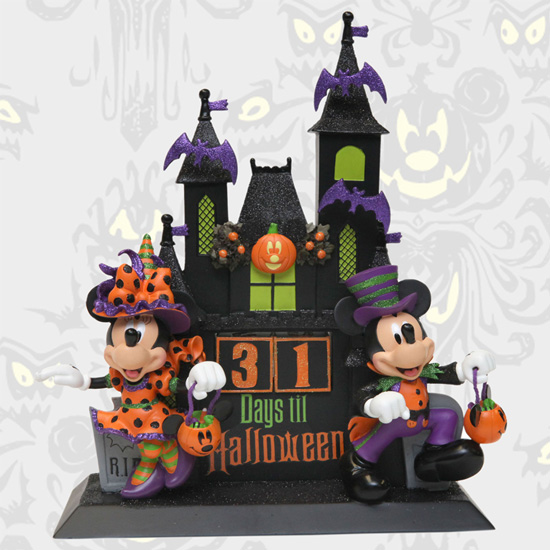 "Disney's ""Countdown to Halloween"" figurine"