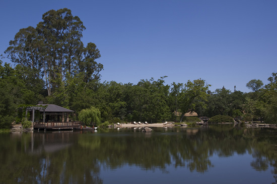 Lake Serendipity, a rarely-seen jewel of the estate