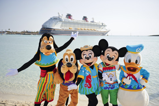 the most beautiful spots on earth, alongside your favorite Disney friends
