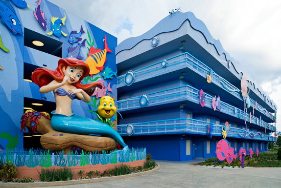 The Little Mermaid' Wing of Disney's Art of Animation Resort Opens September 15
