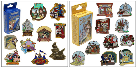 collect all the pins in a particular mystery set