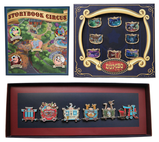 pins created for Storybook Circus