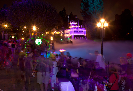 A Night at Mickey's Halloween Party in Disneyland Park