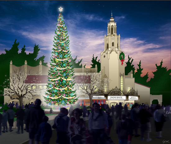 Creating Holiday Traditions on Buena Vista Street at Disney California Adventure Park