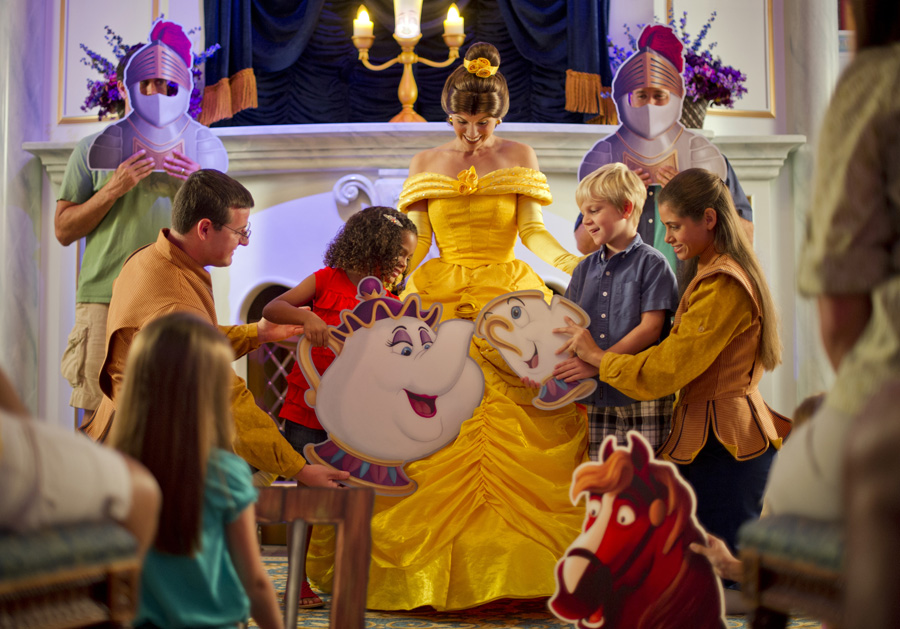 Enchanted Tales with Belle - New Magic in the Making at Walt Disney World Resort