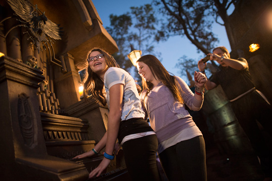 Haunted Mansion Interactive Queues at Walt Disney World