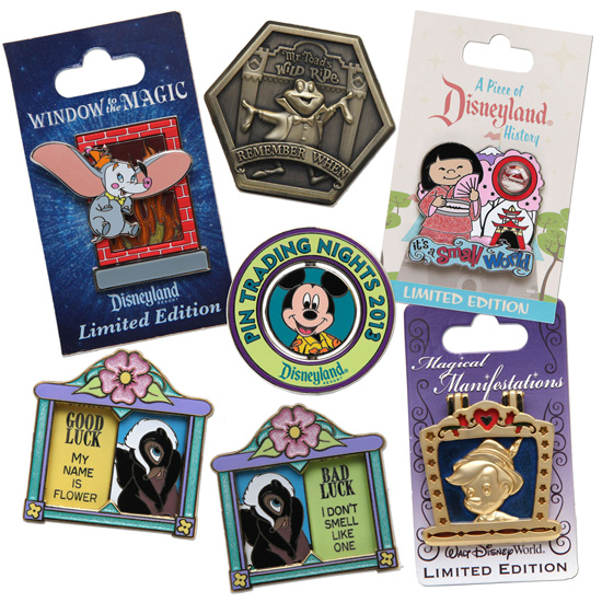 New Pins to Collect or Trade Coming to Disney Parks in 2013