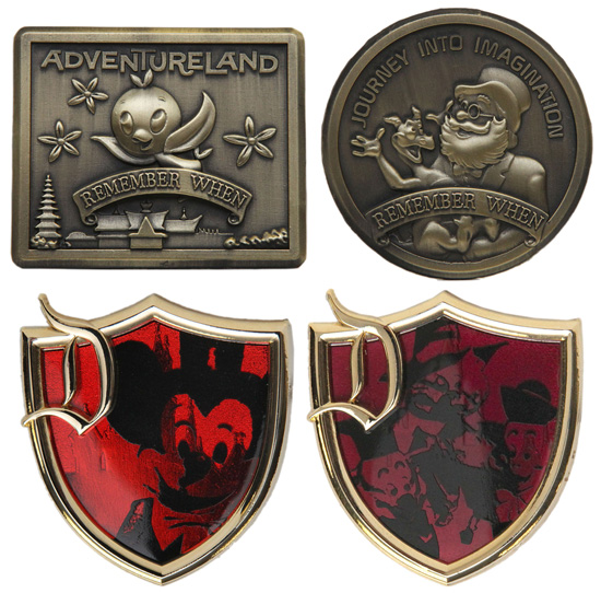 "For Walt Disney World Resort, there will be a pin-of-the-month collection called ""Good Luck / Bad Luck."""