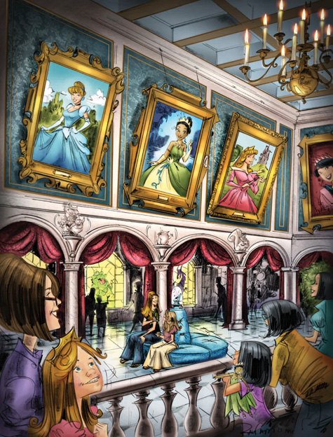 Princess Fairytale Hall coming to New Fantasyland at Magic Kingdom Park in 2013
