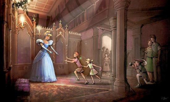 Beginning March 12, 2013, Disney Princesses will greet Disneyland Guests at the new Fantasy Faire in Disneyland