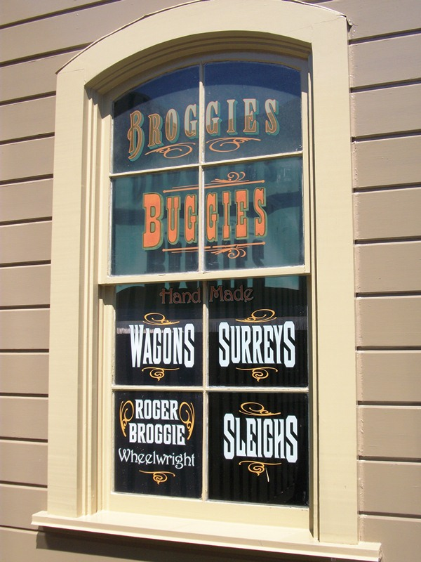 "Broggie was honored with a Window on Main Street, U.S.A. , at Disneyland park on March 30, 2007 fittingly refers to him as ""Roger Broggie, Shopmaster"" and ""Advisor to the Magic Makers."""