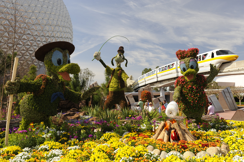 Epcot's 2013 International Flower & Garden Festival