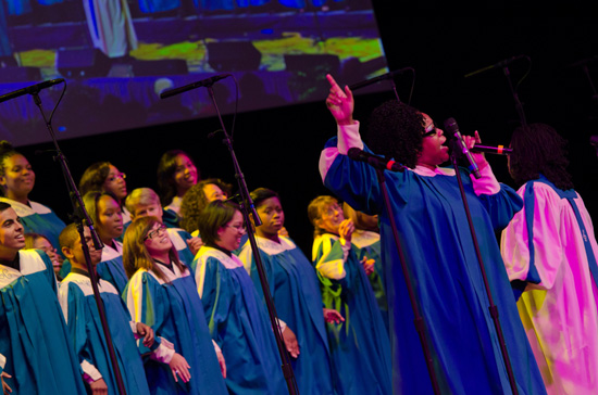 'Celebrate Gospel' at Disney California Adventure Park February 16