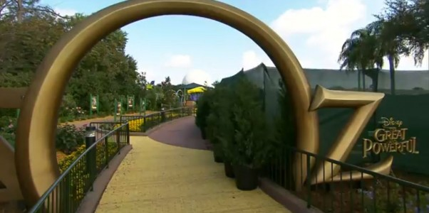 "You'll find whimsical children's play areas, the newest being The Land of Oz Garden , inspired by Walt Disney Pictures' ""Oz The Great and Powerful ."""