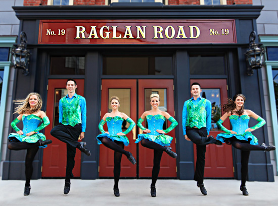 Raglan Road is Party Central for the Family-Friendly St. Patrick's Day Celebration Across Pleasure Island
