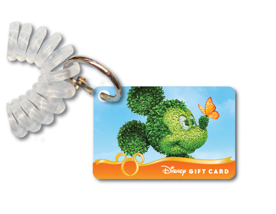 Stop and smell the roses, while sporting this new mini Disney Gift Card with an exclusive Epcot International Flower & Garden Festival design.