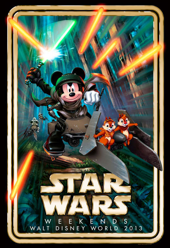 Star Wars Weekends takes place at Disney's Hollywood Studios every Friday, Saturday and Sunday from May 17-June 9, 2013.