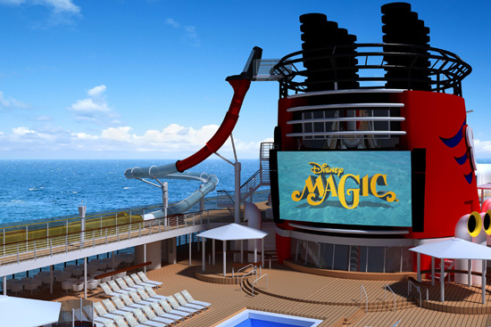 "Disney Cruise Line shared some exciting news …there's an extra dose of magic coming aboard the Disney Magic! Our first ship in the fleet is getting a ""reimagineering"" transformation during dry dock from Sept. 7 through Oct. 10, 2013."