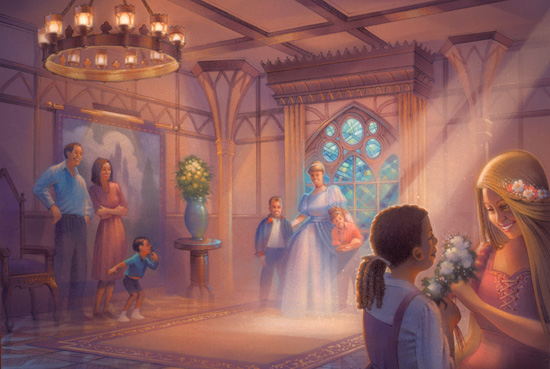 Princess Fairytale Hall, which will open later this year, will be the ultimate destination in which to greet Disney royalty. The Seven Dwarfs Mine Train, a family coaster that is set to open in 2014