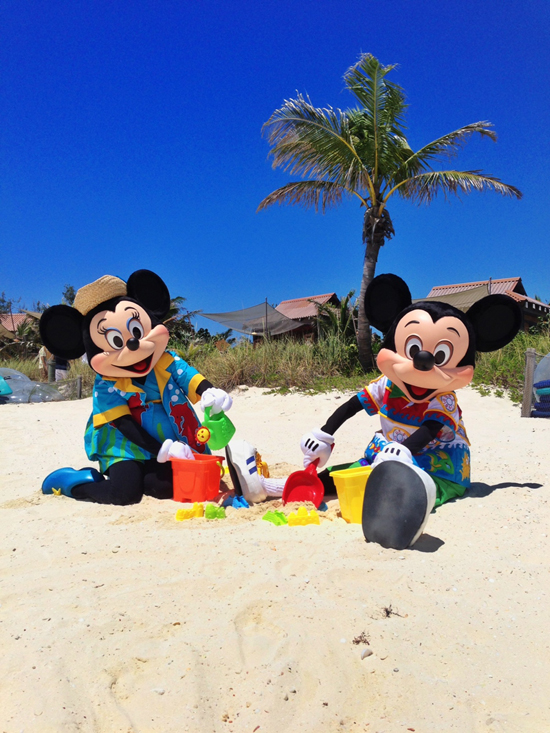 Disney Cruise Line guests aren't the only ones who love to kick back, relax and have fun here! See what Mickey and the gang do on their fun-filled days at Disney's island paradise