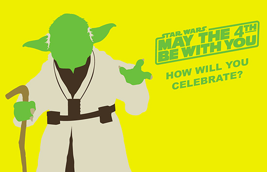 "Disney's Hollywood Studios will present a ""Limited Time Magic"" event for the annual, fan-proclaimed ""Star Wars Day,"" May 4 – a date that Star Wars fans worldwide turn into a celebratory pun, ""May the Fourth Be With You!"""