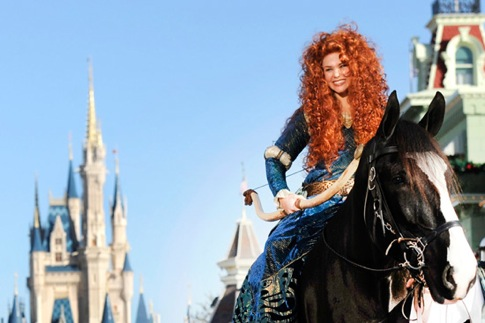 a special celebration to officially welcome Merida into the Disney Princess Royal Court.