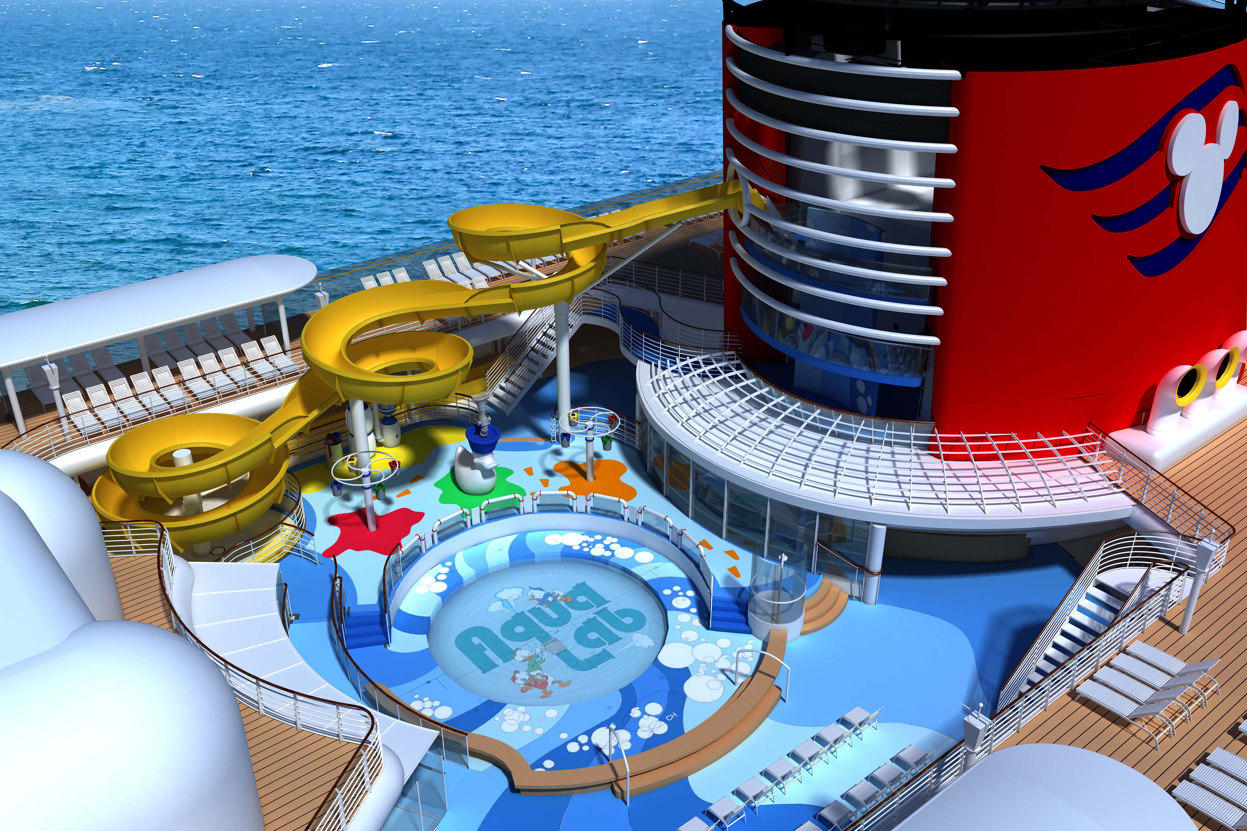 Getting Wetter Has Never Been Better Aboard Disney Magic With New - Disney magic cruise ship pictures
