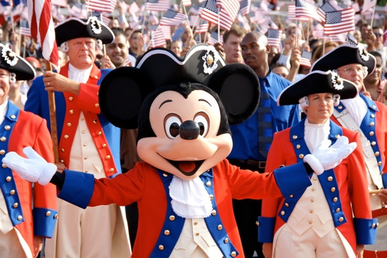 Disney Parks Salute America with Weeklong Fourth of July Fireworks Parties for 'Limited Time Magic'