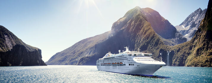 World Cruise on Pacific Princess – For the first time, Princess' World Cruise will depart and return from North America.