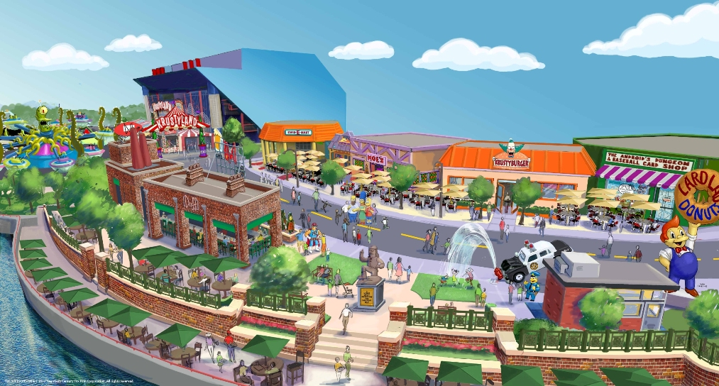 Springfield, hometown to America's favorite animated family, The Simpsons, comes to life at Universal Orlando Resort this summer.