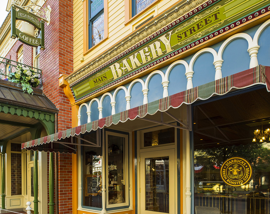 Main Street Bakery Now Serving Starbucks at Magic Kingdom Park