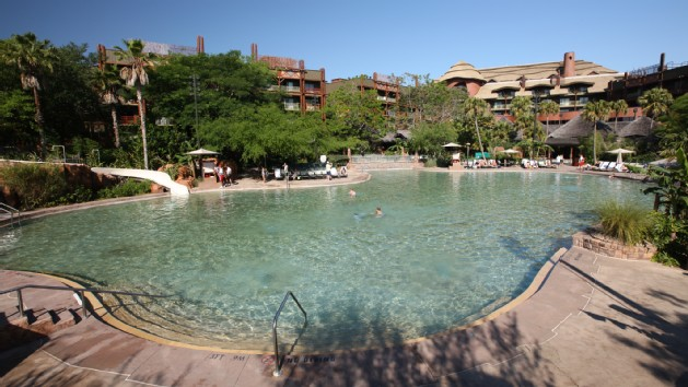Uzima Pool at Disney's Animal Kingdom Lodge