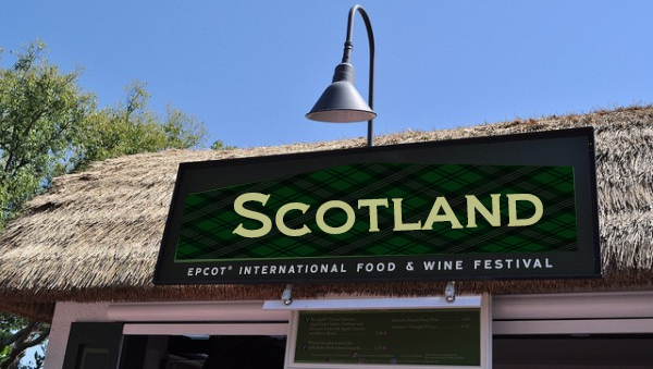 Scotland joins the 2013 Epcot International Food and Wine Festival