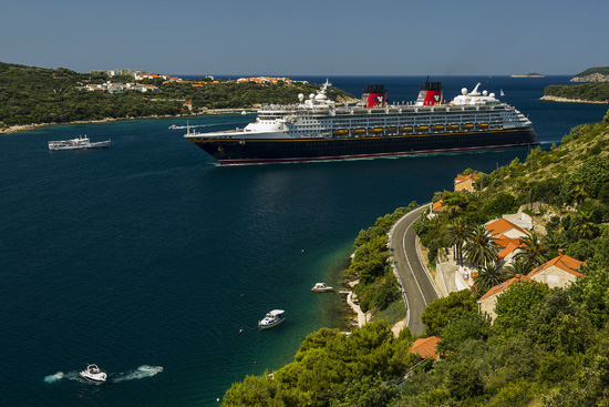 The Disney Magic arrived in Dubrovnik, Croatia, as part of the 2013 Mediterranean season and will return on select European itineraries in 2014.
