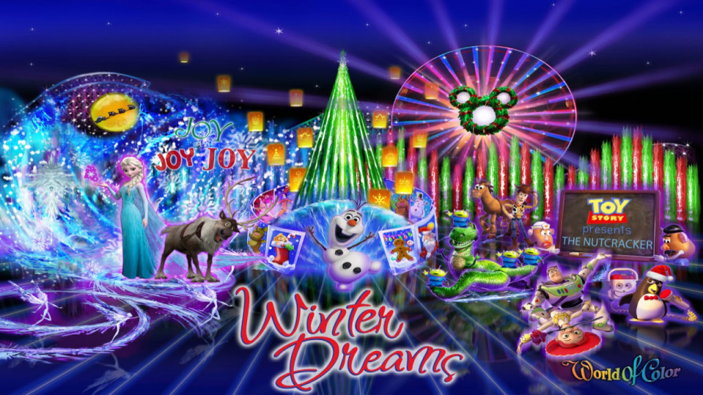 A Special 'World of Color' Announcement from Imagineer Steve Davison from Disney California Adventure Park
