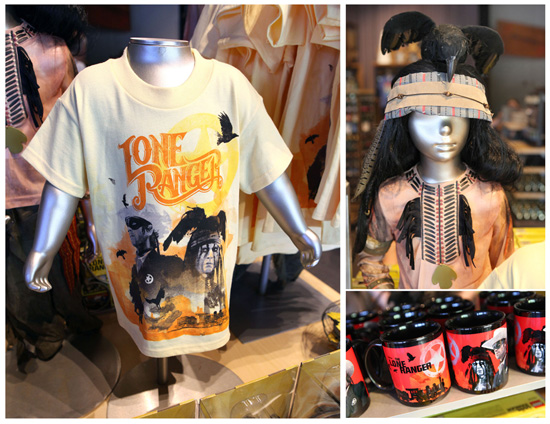 Disney's 'The Lone Ranger' Merchandise Rides into Disney Parks