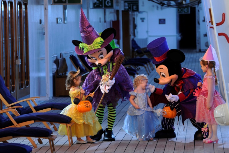 Celebrate the Halloween on the High Seas with Disney Cruise Line