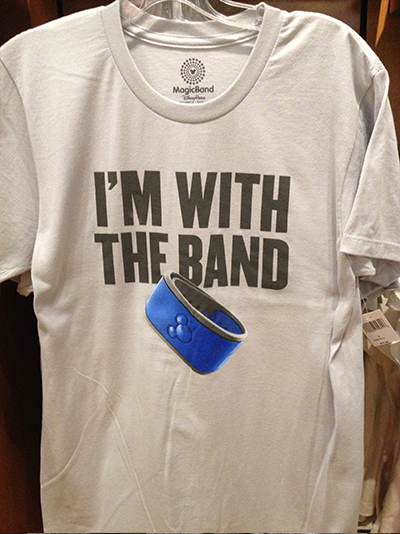 New MagicBands T-Shirts Available at Walt Disney World